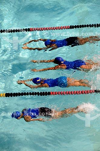 Assunto: Aula de natação   / Local: Rio de Janeiro  -  Rio de Janeiro (RJ) - Brasil / Data: 07/2012