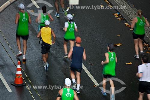Assunto: Corredores durante a Meia Maratona da Cidade do  Rio de Janeiro / Local: Rio de Janeiro  -  Rio de Janeiro (RJ) - Brasil / Data: 07/2012