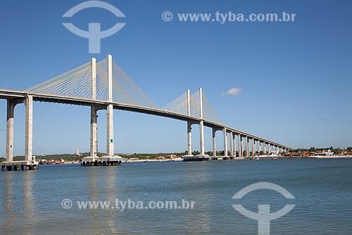 Assunto: Ponte Newton Navarro (2007) - também conhecida como a Ponte de Todos ou Ponte Forte-Redinha / Local: Natal - Rio Grande do Norte (RN) - Brasil / Data: 07/2012