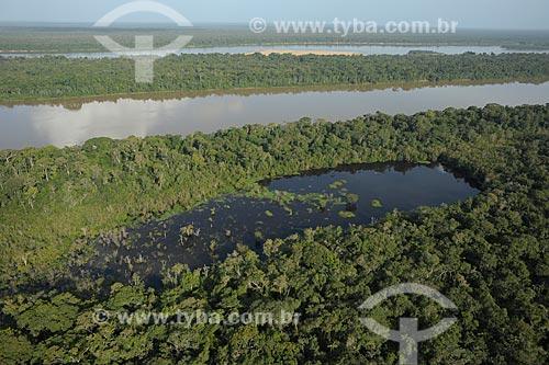 Assunto: Trecho do Rio Branco no Parque Nacional Serra da Mocidade / Local: Caracaraí - Roraima (RR) - Brasil / Data: 03/2012