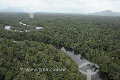 Assunto: Trecho do Rio Água Boa do Univiní no Parque Nacional Serra da Mocidade / Local: Caracaraí - Roraima (RR) - Brasil / Data: 03/2012