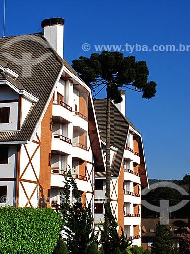 Assunto: Prédio de arquitetura alemã / Local: Vila Capivari - Campos do Jordão - São Paulo (SP) - Brasil / Data: 09/2012
