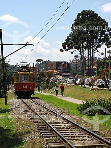 Assunto: Bonde fazendo passeio turístico / Local: Vila Capivari - Campos do Jordão - São Paulo (SP) - Brasil / Data: 09/2012