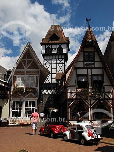 Assunto: Lojas na Vila Capivari / Local: Vila Capivari - Campos do Jordão - São Paulo (SP) - Brasil / Data: 09/2012