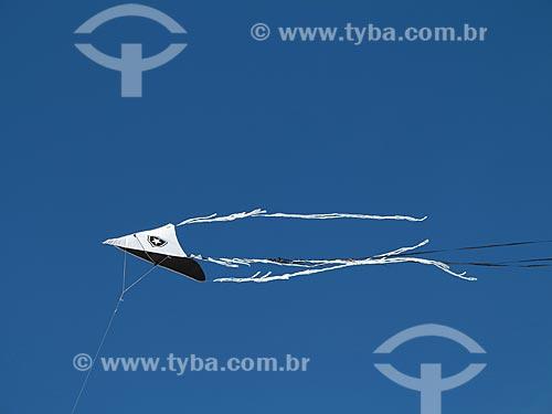Assunto: Pipa voando na praia do Forte                        / Local: Cabo Frio - Rio de Janeiro (RJ) - Brasil / Data: 08/2012