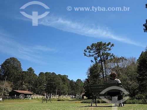 Assunto: Parque Estadual Campos do Jordão também conhecido com Horto Florestal / Local: Campos do Jordão - São Paulo (SP) - Brasil / Data: 09/2012