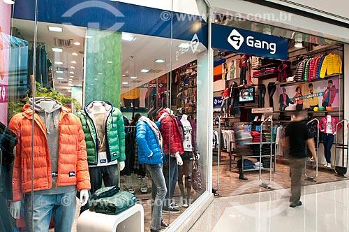 Assunto: Loja de roupas no Shopping Iguatemi / Local: Porto Alegre - Rio Grande do Sul (RS) - Brasil / Data: 05/2012