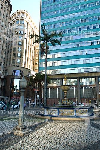 Assunto: Fonte Talavera na Praça Montevidéo / Local: Porto Alegre - Rio Grande do Sul (RS) - Brasil / Data: 07/2012