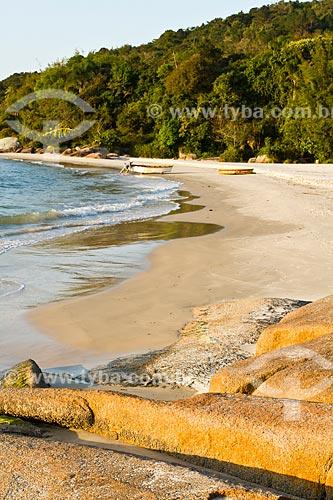 Assunto: Pescador na Praia da Daniela / Local: Florianópolis - Santa Catarina (SC) - Brasil / Data: 08/2012