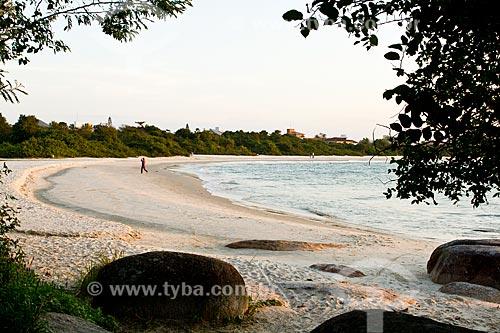 Assunto: Praia da Daniela / Local: Florianópolis - Santa Catarina (SC) - Brasil / Data: 08/2012