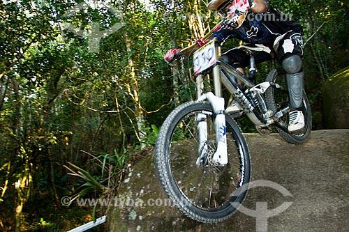 Assunto: Atleta de downhill no Parque Unipraias / Local: Balneário Camboriú - Santa Catarina (SC) - Brasil / Data: 09/2012