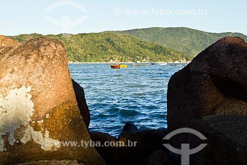 Assunto: Baía Norte vista da Ponta do Sambaqui / Local: Florianópolis - Santa Catarina (SC) - Brasil / Data: 09/2012