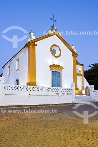 Assunto: Igreja de Nossa Senhora das Necessidades (1756) / Local: Santo Antonio de Lisboa - Santa Catarina (SC) - Brasil / Data: 09/2012