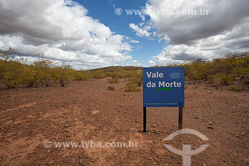 Assunto: Vale da Morte local onde estão sepultados dezenas de soldados mortos em combate durante a Guerra de Canudos - no Parque Estadual de Canudos / Local: Canudos - Bahia (BA) - Brasil / Data: 06/2012