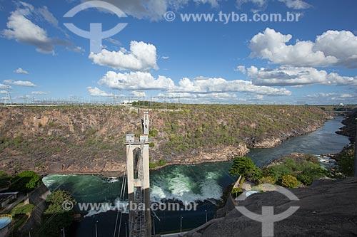 Assunto: Ponte sobre o rio São Francisco no Complexo Hidrelétrico de Paulo Afonso / Local: Paulo Afonso - Bahia (BA) - Brasil / Data: 06/2012