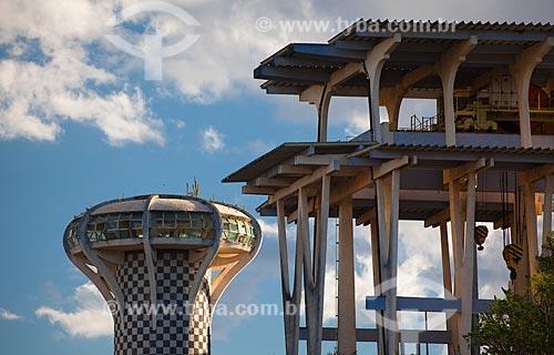 Assunto: Torre onde funcionava o escritório do Presidente da Companhia Hidro Elétrica do São Francisco (CHESF) / Local: Paulo Afonso - Bahia (BA) - Brasil / Data: 06/2012