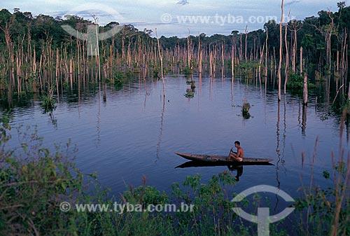 Assunto: Lago do Limão / Local: Próximo a Manaus - Amazônia (AM) - Brasil / Data: 2002