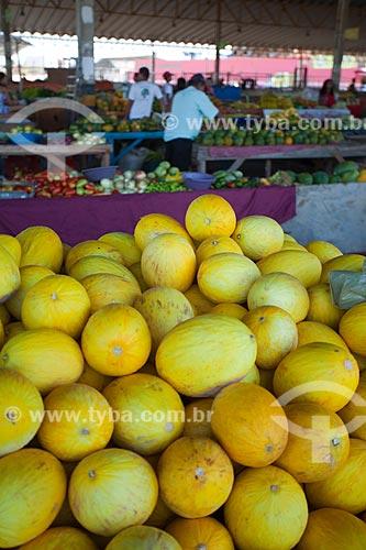 Assunto: Frutas produzidas em áreas irrigadas do sertão de Pernambuco à venda no mercado municipal / Local: Petrolina - Pernambuco (PE) - Brasil / Data: 06/2012