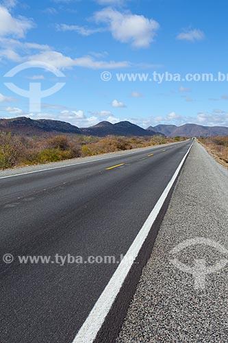Assunto: Rodovia BR-407 no sertão da Bahia / Local: Jaguarari - Bahia (BA) - Brasil / Data: 06/2012