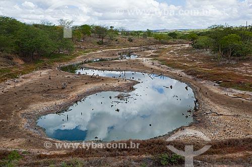 Assunto: Rio no período de estiagem no sertão da Bahia / Local: Filadélfia - Bahia (BA) - Brasil / Data: 06/2012