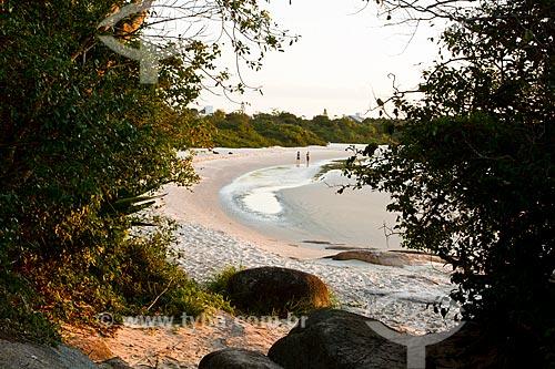 Assunto: Praia da Daniela / Local: Florianópolis - Santa Catarina (SC) - Brasil / Data: 10/2012