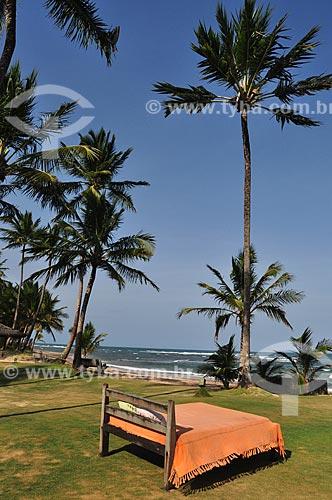 Assunto: Cama na Praia de Taipús de Fora - Península de Maraú / Local: Maraú - Bahia (BA) - Brasil / Data: 10/2011