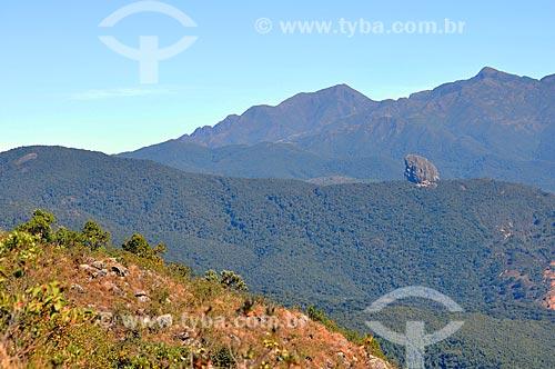 Assunto: Pedra do Picú (Pedra que deu origem ao nome da cidade) / Local: Itamonte - Minas Gerais (MG) - Brasil / Data: 07/2011
