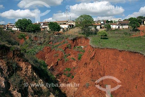 Assunto: Erosão na área urbana da cidade / Local: São Roque de Minas - Minas Gerais (MG) - Brasil / Data: 10/2011