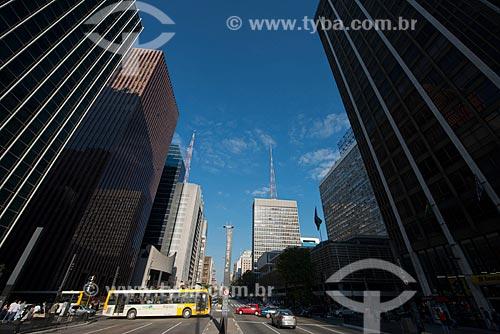 Assunto: Avenida Paulista cruzamento com a Rua Augusta / Local: São Paulo  (SP)  -  Brasil / Data: 06/2012