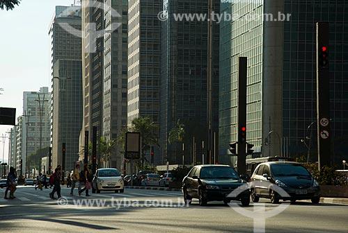 Assunto: Avenida Paulista entre as ruas Peixoto Gomide e Frei Caneca / Local: São Paulo  (SP)  -  Brasil / Data: 06/2012