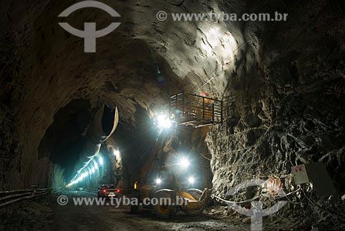 Assunto: Túnel Cuncas II  no lote 14 eixo norte - Projeto de Integração do Rio São Francisco com Bacias Hidrográficas do Nordeste Setentrional / Local: Cajazeiras - Paraíba (PB) - Brasil / Data: 08/2012