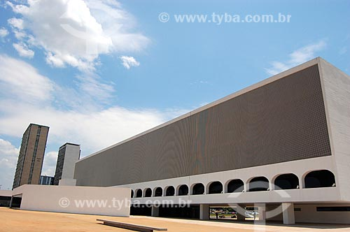 Assunto: Biblioteca Nacional de Brasilia (2006) / Local: Brasília - Distrito Federal (DF) - Brasil  / Data: 10/2006
