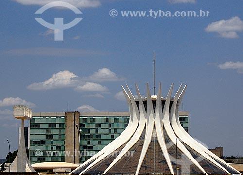 Assunto: Vista da Catedral Metropolitana de Nossa Senhora Aparecida  (Catedral de Brasília)  / Local: Brasília - Distrito Federal  (DF) -  Brasil  / Data: 10/2006