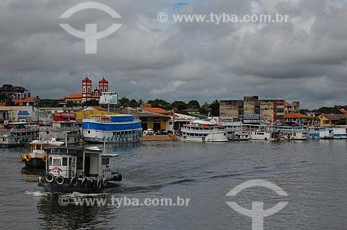 Assunto: Vista da cidade de Santarém / Local: Santarém - Pará (PA) - Brasil / Data: 03/2006