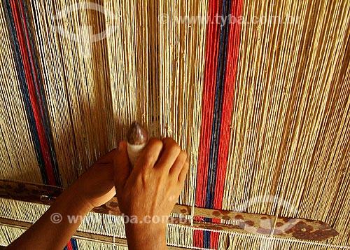 Assunto: Tear / Local: Maranhão (MA) - Brasil / Data: 03/2005