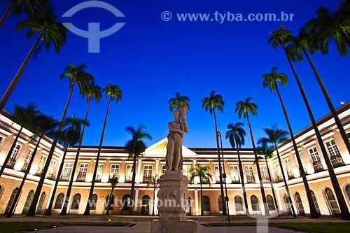Assunto: Antigo prédio da Casa da Moeda, atual Arquivo Nacional - fundado em 1838, está neste endereço a partir de 1985 / Local: Praça da República - Rio de Janeiro (RJ) - Brasil / Data: 03/2012