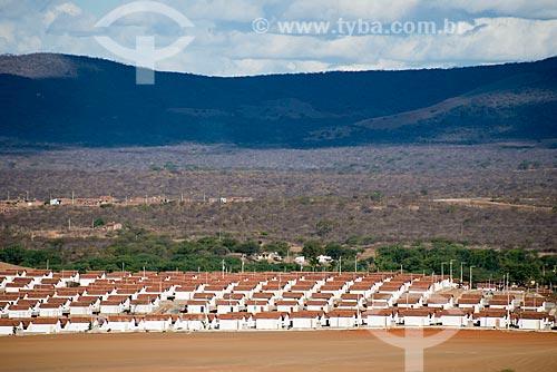 Assunto: Habitações populares na periferia de Serra Talhada / Local: Serra Talhada - Pernambuco (PE) - Brasil / Data: 08/2012