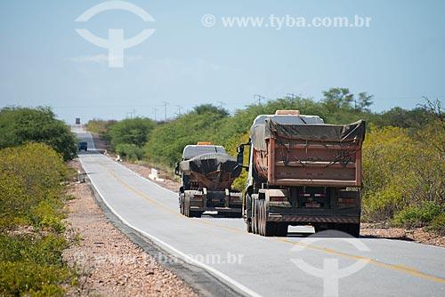 Assunto: Rodovia  no trecho entre Belém de São Francisco e o distrito de Ibó / Local: Belém de São Francisco - Pernambuco (PE) - Brasil / Data: 08/2012