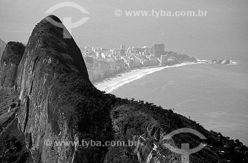 Assunto: Morro dois irmãos e Ipanema ao fundo / Local: Ipanema - Rio de Janeiro (RJ) - Brasil / Data: 11/2012