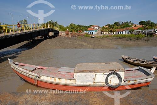 Assunto: Barco no Porto do Jacaré / Local: Alcântara - Maranhão (MA) - Brasil / Data: 09/2010
