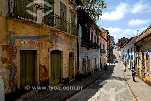Assunto: Rua do Giz / Local: São Luis - Maranhão (MA) - Brasil / Data: 09/2010