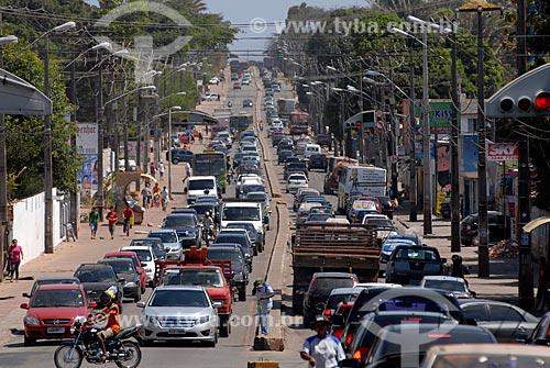 Assunto: Tráfego na Avenida São Luis Rei de França / Local: São Luis - Maranhão (MA) - Brasil / Data: 09/2010