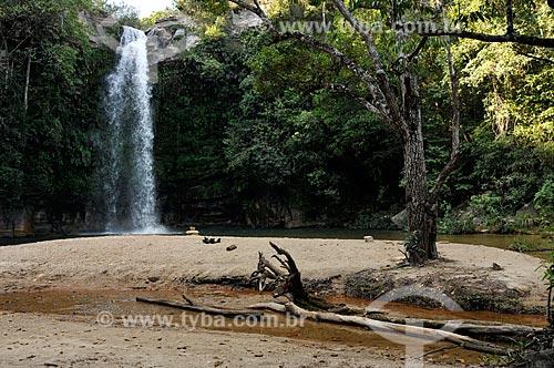 Assunto: Cachoeira do Abade - Rio das Almas / Local: Pirenópolis - Goiás (GO) - Brasil / Data: 05/2012