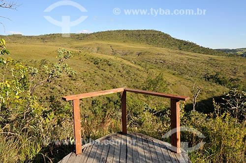 Assunto: Mirante das Andorinhas / Local: Pirenópolis - Goiás (GO) - Brasil / Data: 05/2012