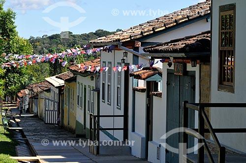 Assunto: Casarios da Rua Aurora / Local: Pirenópolis - Goiás (GO) - Brasil / Data: 05/2012