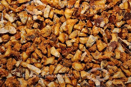 Assunto: Coquinho Doce - doce caseiro feito à base de coco e chocolate em pó / Local: Nova Itapirema - Nova Aliança - São Paulo (SP) - Brasil / Data: 07/2012