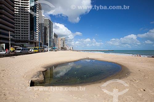 Assunto: Saída de esgoto na Praia do Meireles / Local: Fortaleza - Ceará (CE) - Brasil / Data: 11/2012