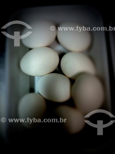 Assunto: Ovos - foto feita com IPhone / Local: Jardim Paulista - São Paulo (SP) - Brasil / Data: 09/2012