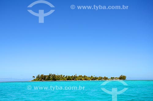 Assunto: Uma das diversas ilhas que formam a Polinésia Francesa / Local: Ilha Bora Bora - Polinésia Francesa - Oceania / Data: 10/2012