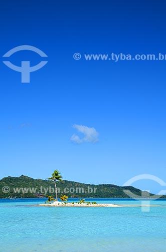 Assunto: Pequena ilha no meio do Oceano Pacífico / Local: Ilha Bora Bora - Polinésia Francesa - Oceania / Data: 10/2012